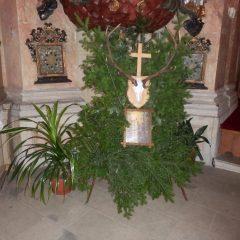 Svatohubertská mše svatá v Přibyslavicích