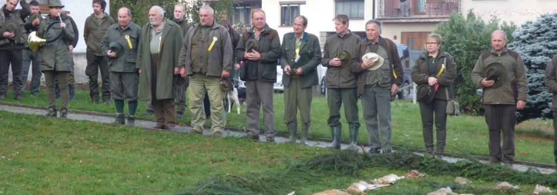 Lesní zkoušky ohařů a ostatních plemen v Hostákově