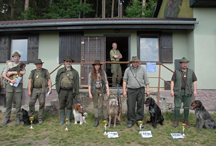 Zkoušky vloh ohařů a ostatních plemen – Třebelovice 2018-05-19