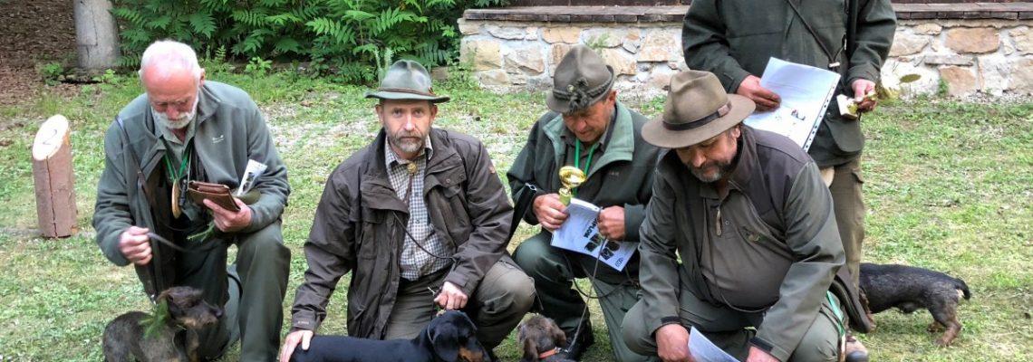 Lesní zkoušky ostatních plemen se zadáváním titulů CACT pro jezevčíky _ 2018-06-30