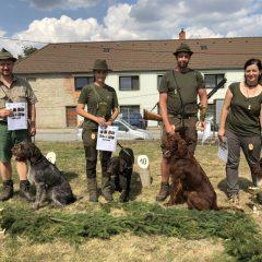 Podzimní zkoušky ohařů a ostaních plemen – Klučov 2018-08-18