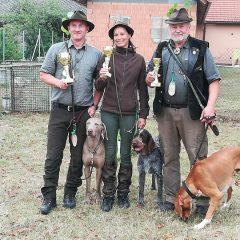 Lesní zkoušky loveckých psů v Hostákově _ 2018-09-01