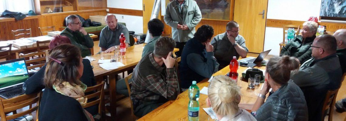 Pracovní setkání – práce s mládeží – 2018-09-25 Bažantnice