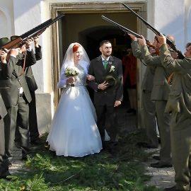 …a byla svatba…myslivecká