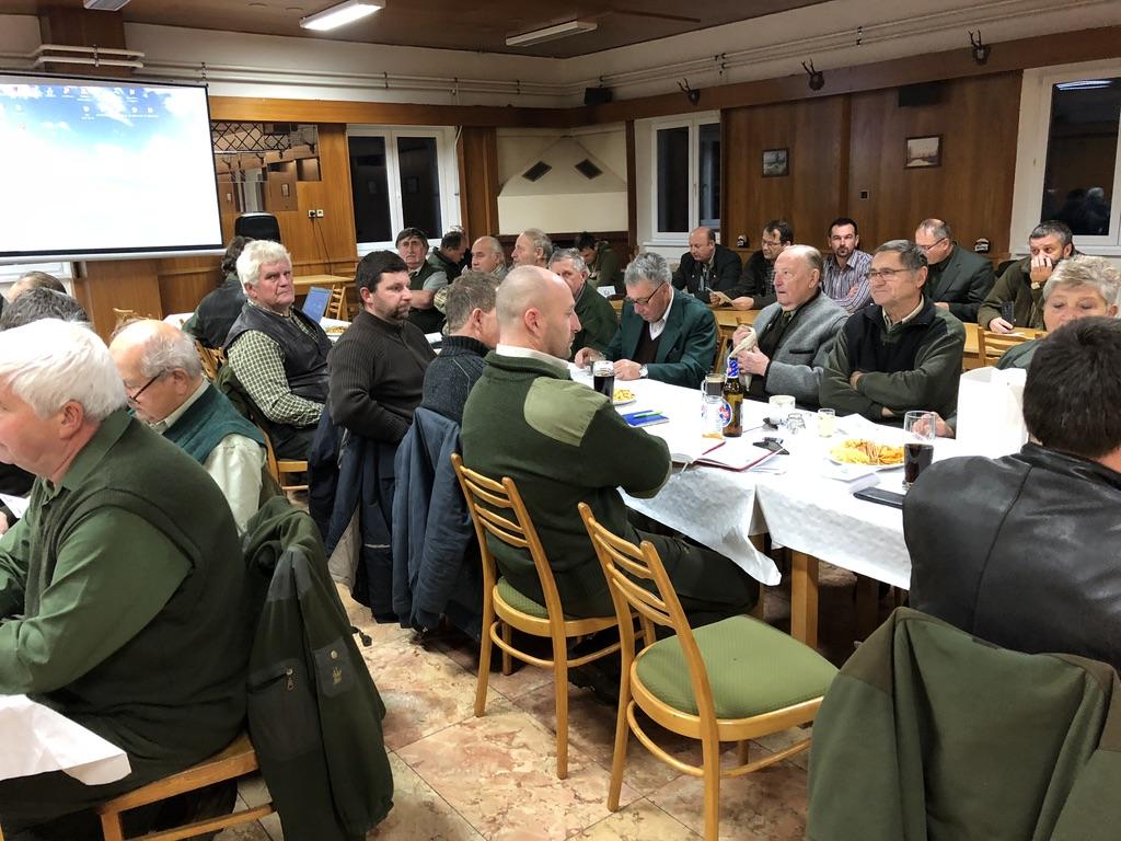 Hodnotící schůze komisí OMS Třebíč – 2018